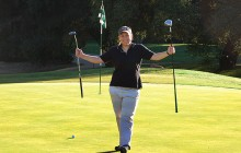 A Young Golfer's Special Event - Driving a Par 4 in one shot
