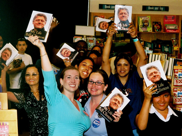 President Clinton fans agog with My Life