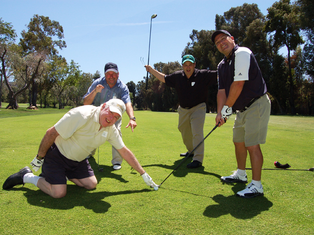 The Kerry Daveline Memorial Celebrity Golf Tournament raises funds for Melanoma Research.