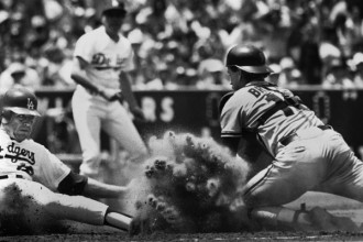 Baseball - Monday slides into home - 9x72dpi