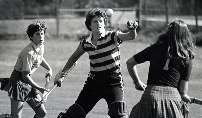 1979 - Field Hockey action at San Jose State University.